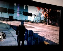 jack frost with gun in saints row 3 by kari5