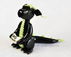 Updated Black Xbox Dragon by HowManyDragons