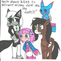 Fan Charas Are Family by cmara