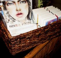 Dec Show 2012 - Basket of Charity Goodies by MonaParvin