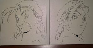 Two expressions by Markisy