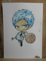Aomine Daiki in color by miki4212