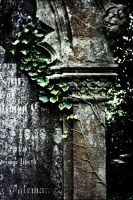 Graveyard Detail - Norfolk UK by Coigach