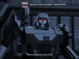 MEGATRON. Decepticon Leader 3D by rando3d