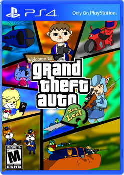 Grand Theft Auto: New Leaf by sackchief