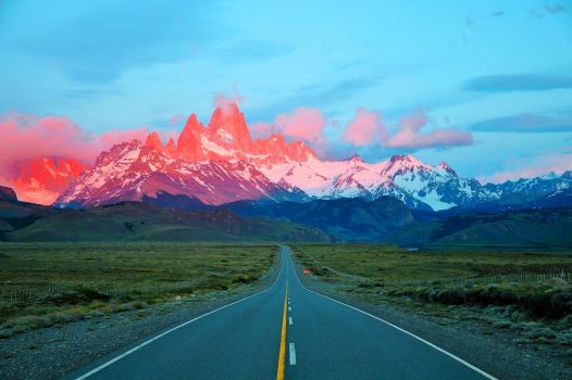 Sunrise in Patagonia by NB-Photo