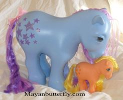 Custom My Pretty Pony Giant Bluebelle Close Up by mayanbutterfly