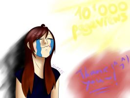 10'000 pageviews, thanks!! by NayKiler