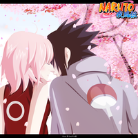 SasuSaku - Sakura Trees by kisi86