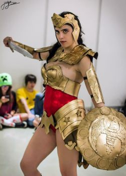 Injustice Wonder Woman by Larxenne