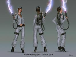 Ghostbuster redesign by AndrewDoris