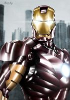 IRON MAN POSTER by BERCLEY
