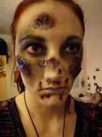 Rotten make-up by MorningGlory34