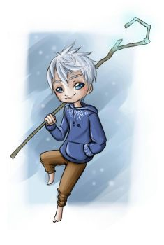 Rise of the Guardians - Jack Frost by VioletKy