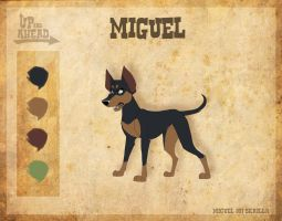 Miguel - Character Sheet by Skailla