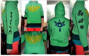 My handmade hoody by ShiroLuna