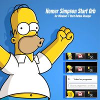 Homer Simpson Start Orb by 1kaox1