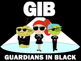 GIB, The Guardians in Black by Gamekirby