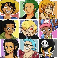Strawhats by Ethai