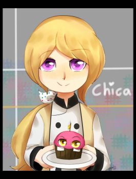 Chica by riukime