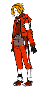 Mars New Outfit Concept by RD-Comics