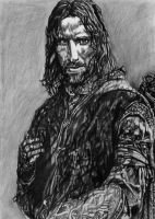 Aragorn, The Lord of the Rings by LittleDragonZ