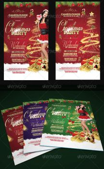 Christmas Flyer Template PSD (Download) by AudioNeptune