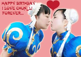 Happy Birthday Chun_Li!!! by Elin-Kuzunoha