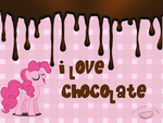 Pinkie Pie loves chocolate by strawbellycake