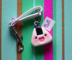 Onigiri Smile by Fimo-Factory