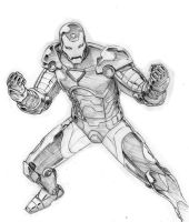 Iron Man by ReillyBrown