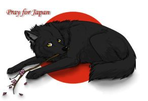 Pray for Japan by HauRin