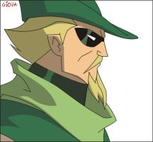 Green Arrow - Corel Draw by Giova94