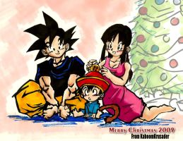 A Son Family Christmas by KaboomKrusader