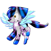 When she has wings (MINE) by catsp00ky