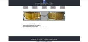 Eastfield Joinery Home Page by StuDocWho