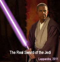 The Real Sword of the Jedi by Leppardra