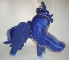 Princess Luna Plushie - My Little Pony FIM View 5 by AmethystArmor