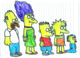 The Original Simpsons by SuperMarcosLucky96