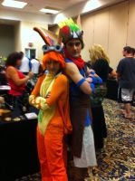 AFW. Jack and Daxter by Dark-Feather-Heart