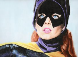 Yvonne Craig as Batgirl by Promethean-Arts