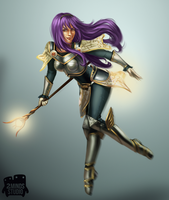 Cosplaying Lux by 2MindsStudio