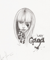 Lady Gaga by geothebio