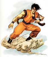Flying Nimbus-Color Wash by ChaseConley