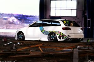 Audi RS6 by Sk1zzo