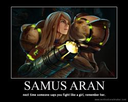 badass: definition, samus aran. by theurbanwerewolf