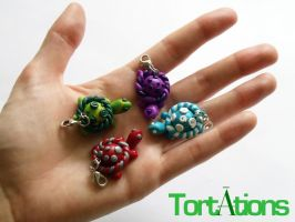 Tortation Charms by Tortations