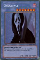 Ghostface card by power-of-shadows13