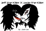 Jeff the Killer X Jade the Killer by BIRTH-LIFE-DEATH