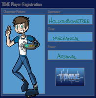 HollowBoneTree TOME Player Registration by BillyBCreationz